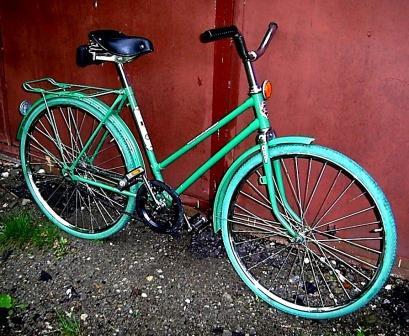 Слветский велосипед Ласточка