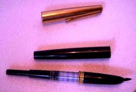 Поршневая перьевая ручка
